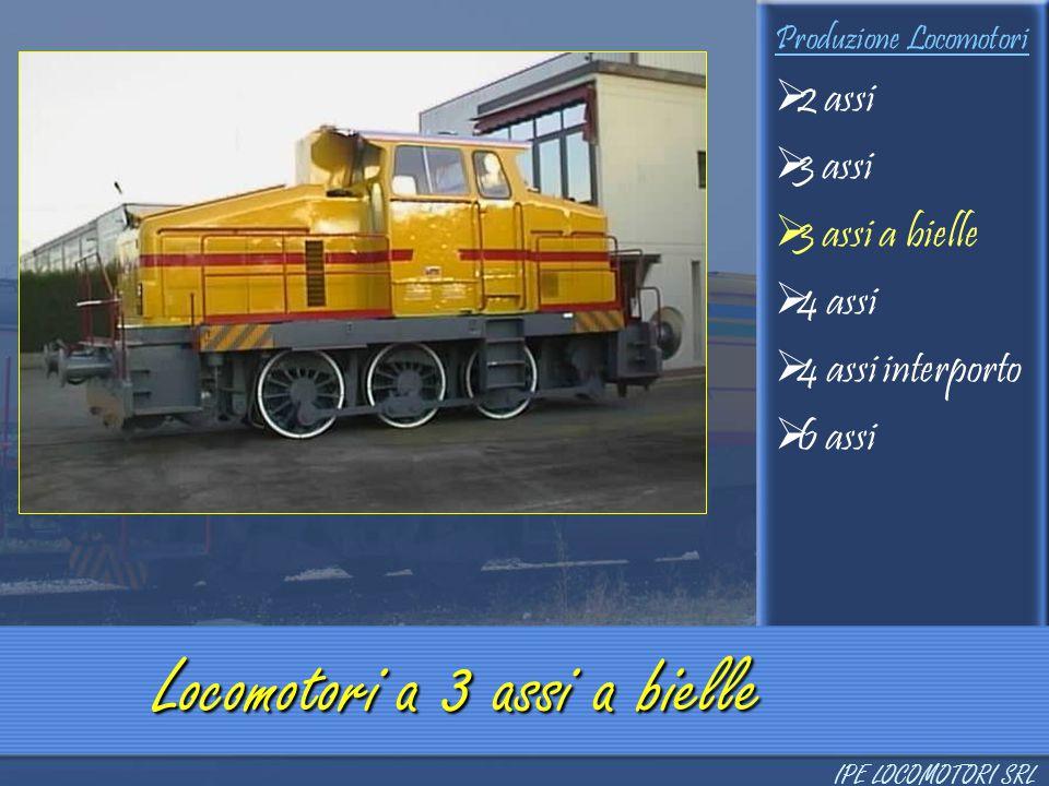 Locomotori a 3 assi a bielle