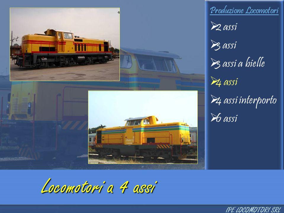 Locomotori a 4 assi 2 assi 3 assi 3 assi a bielle 4 assi