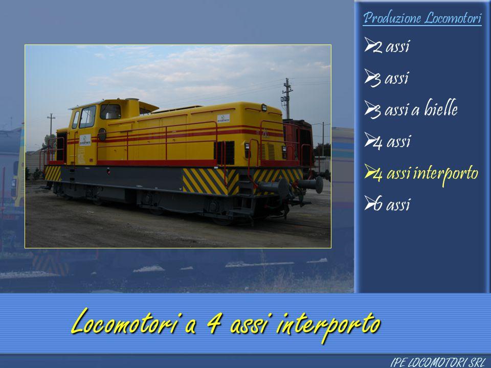 Locomotori a 4 assi interporto
