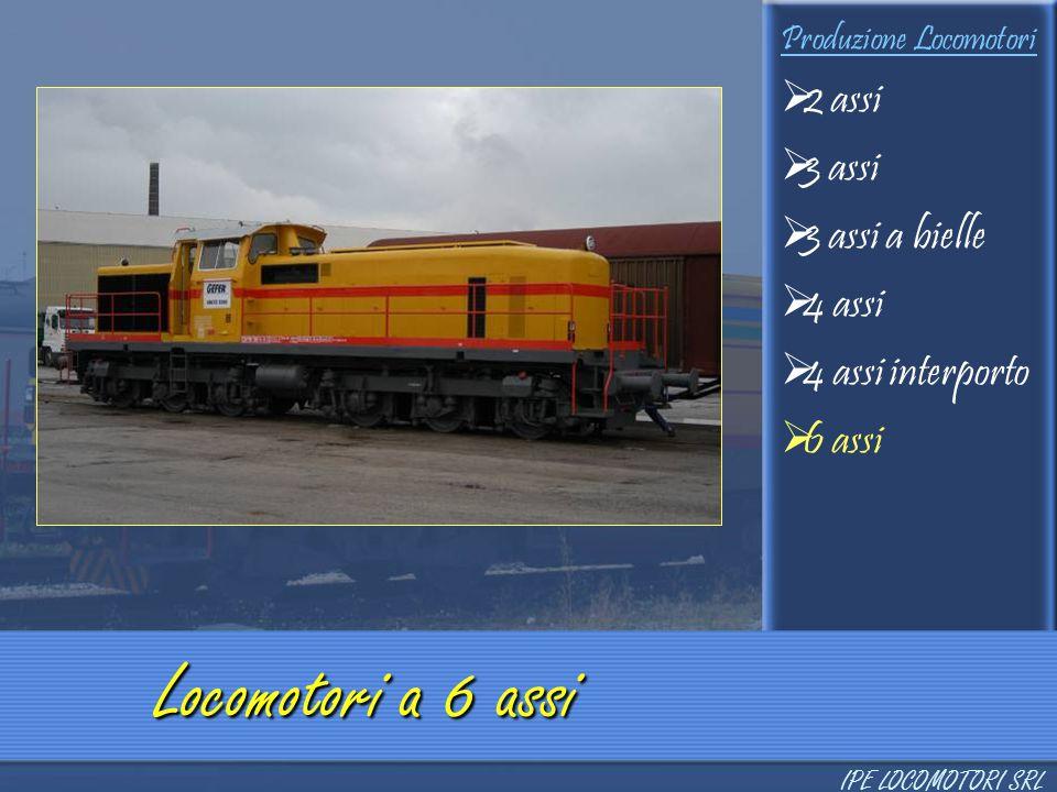 Locomotori a 6 assi 2 assi 3 assi 3 assi a bielle 4 assi