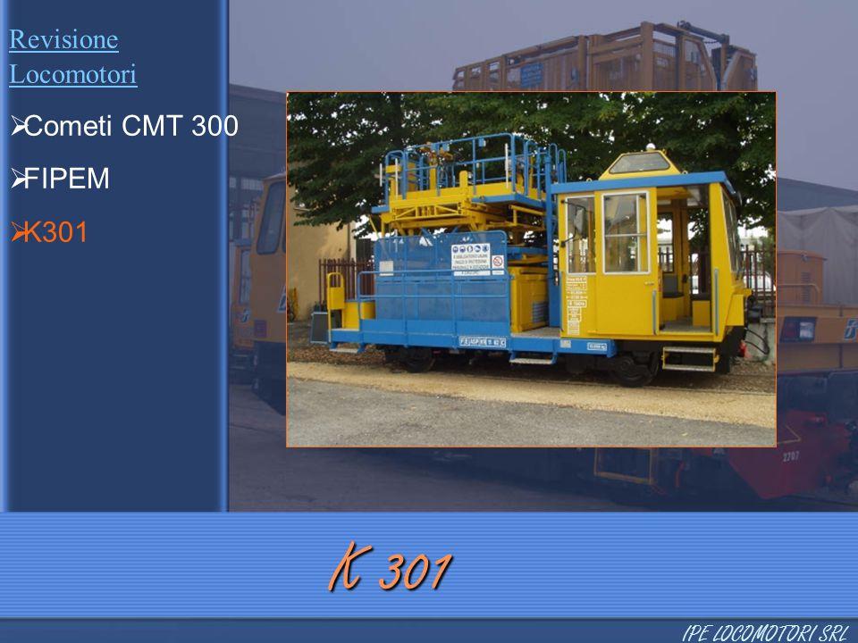 K 301 Cometi CMT 300 FIPEM K301 Revisione Locomotori