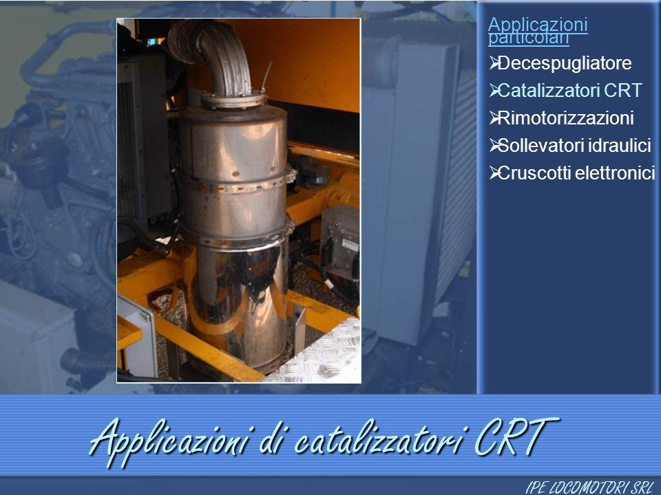 Applicazioni di catalizzatori CRT