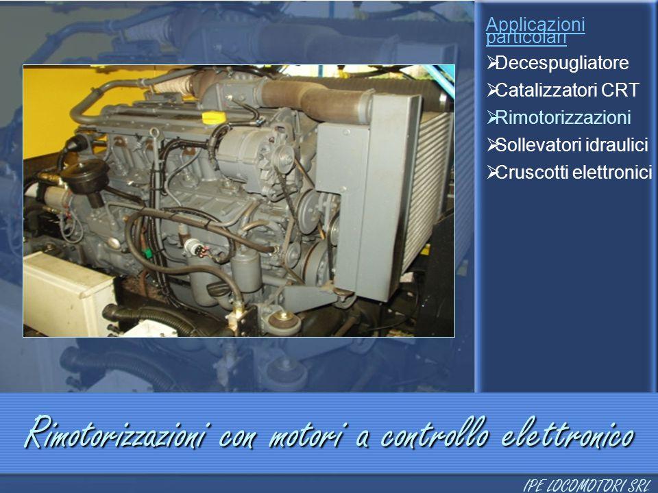 Rimotorizzazioni con motori a controllo elettronico