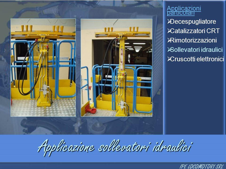 Applicazione sollevatori idraulici