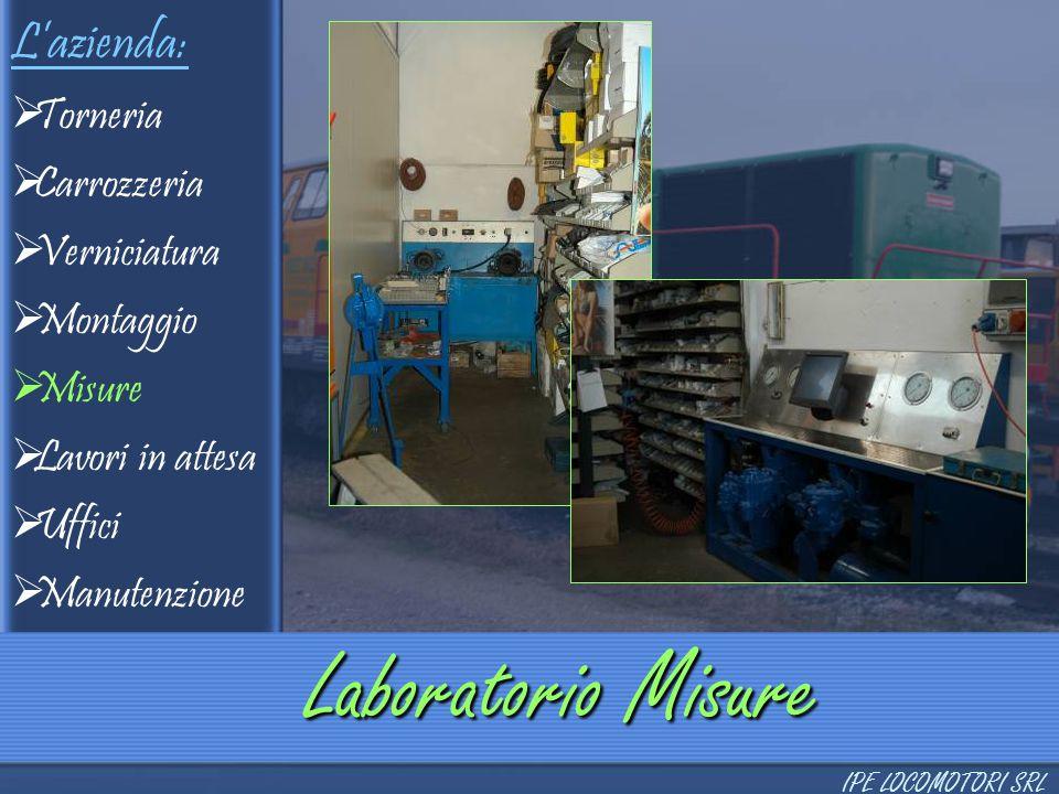 Laboratorio Misure L'azienda: Torneria Carrozzeria Verniciatura