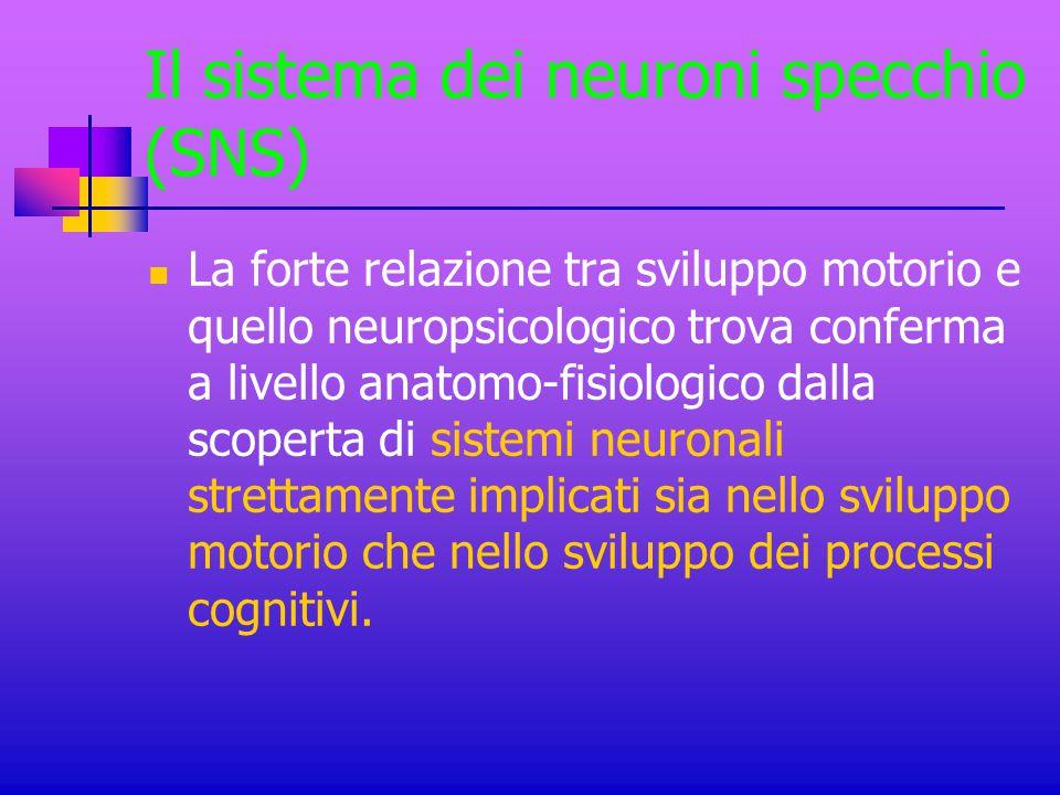 Il sistema dei neuroni specchio (SNS)