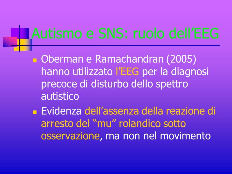 Autismo e SNS: ruolo dell'EEG