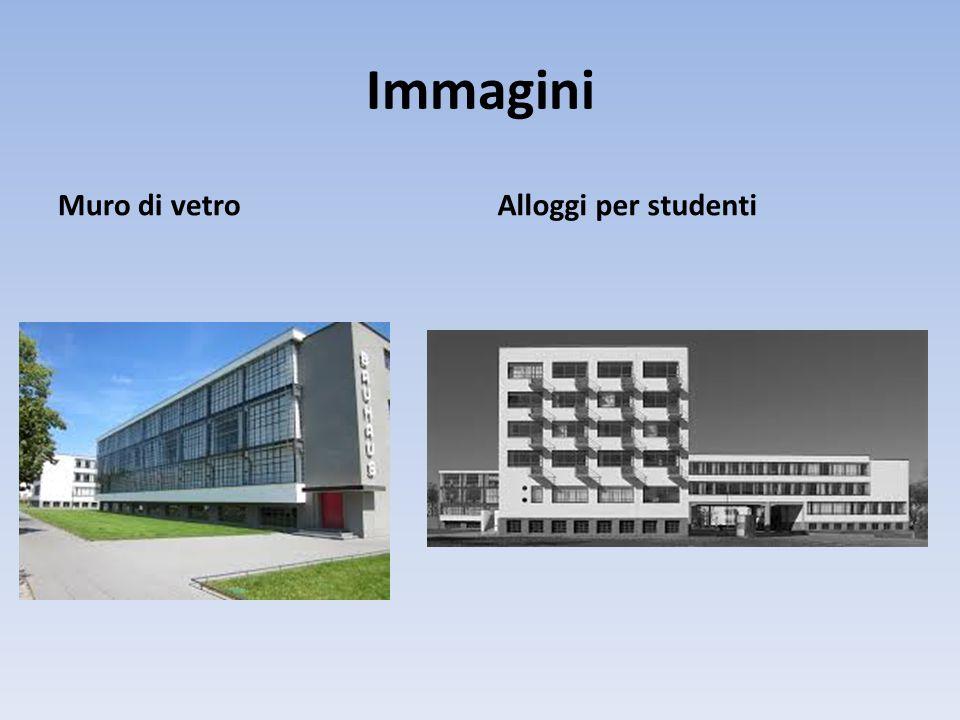 Immagini Muro di vetro Alloggi per studenti