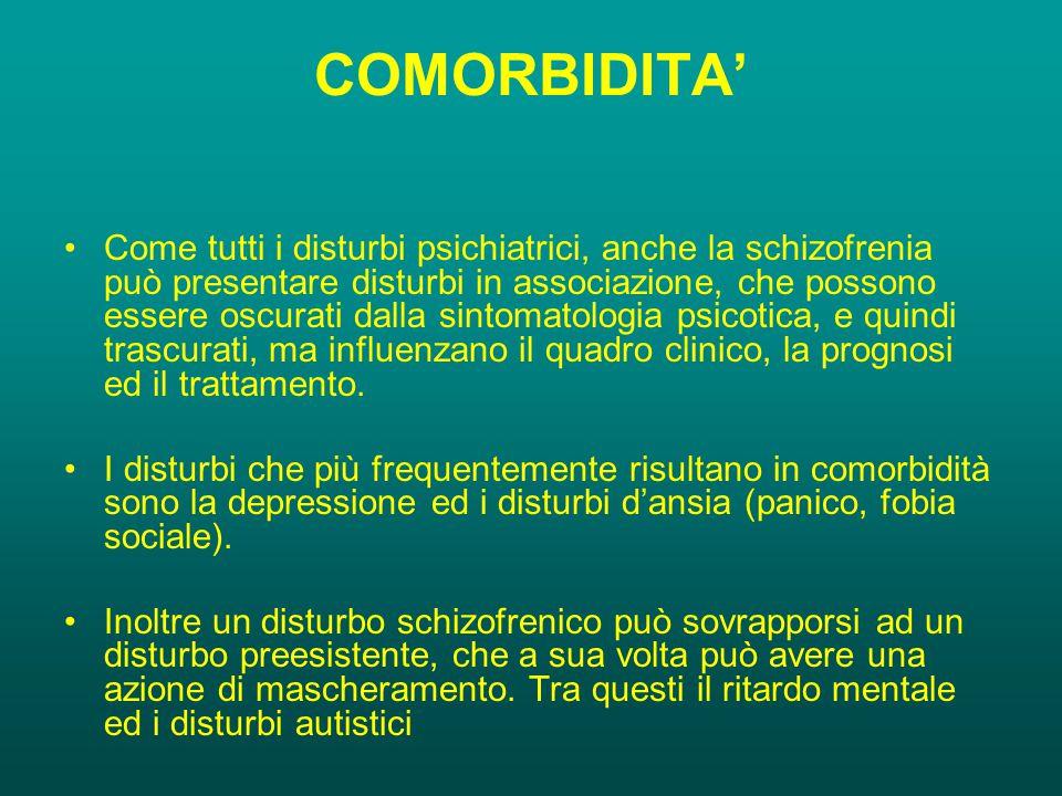 COMORBIDITA'