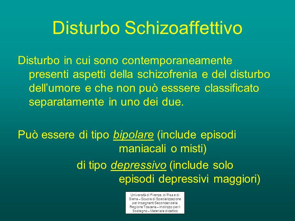 Disturbo Schizoaffettivo