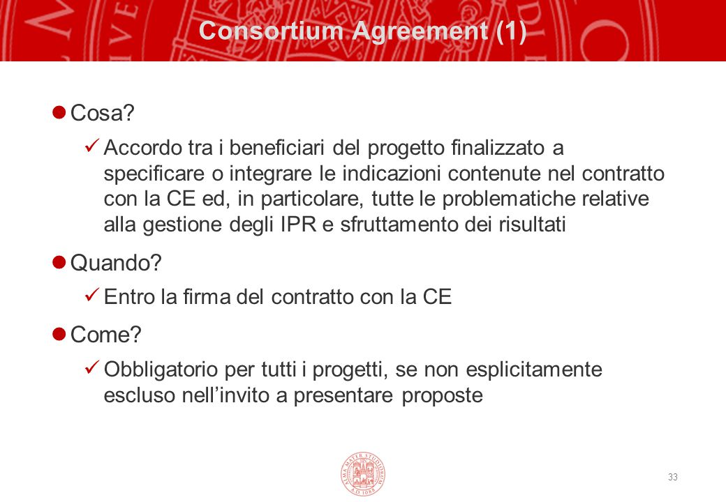 Consortium Agreement (1)