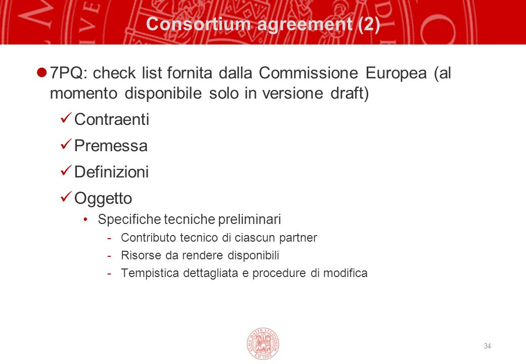 Consortium agreement (2)