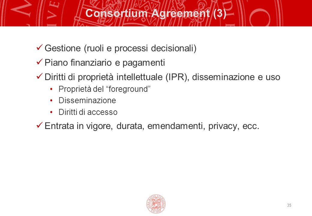 Consortium Agreement (3)
