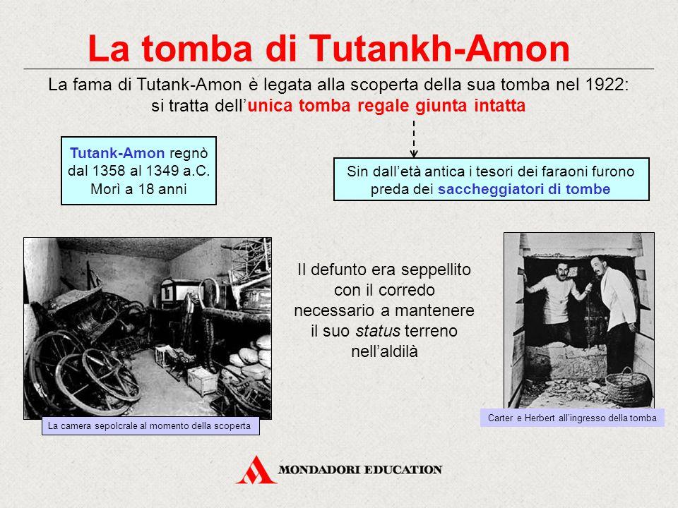 La tomba di Tutankh-Amon