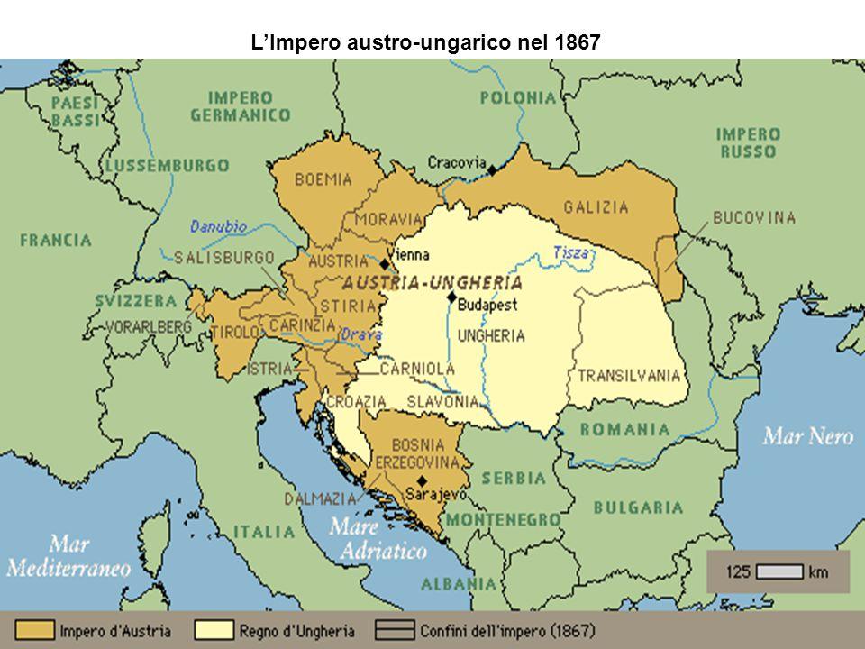 L'Impero austro-ungarico nel 1867