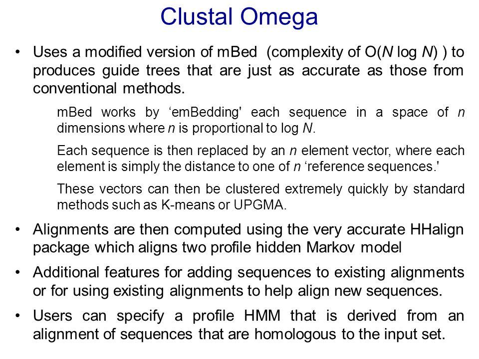 Clustal Omega