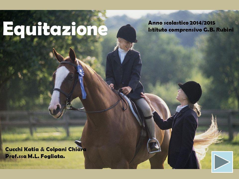 Equitazione Anno scolastico 2014/2015 Istituto comprensivo G.B. Rubini