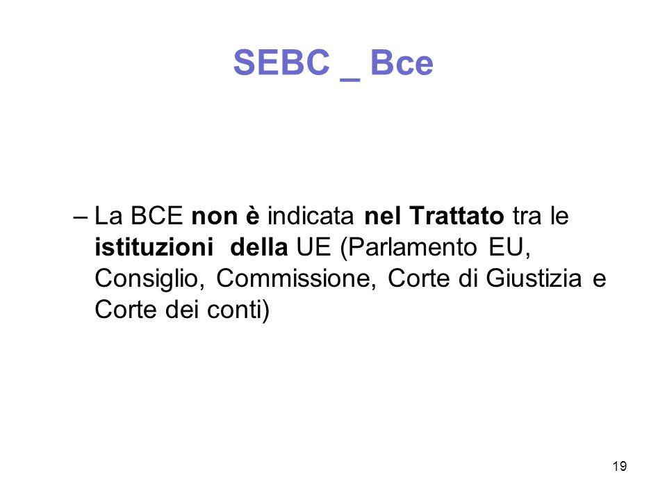 SEBC _ Bce