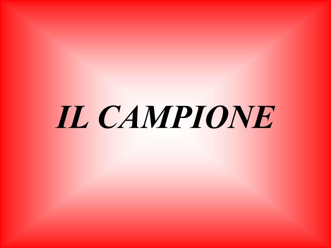 IL CAMPIONE