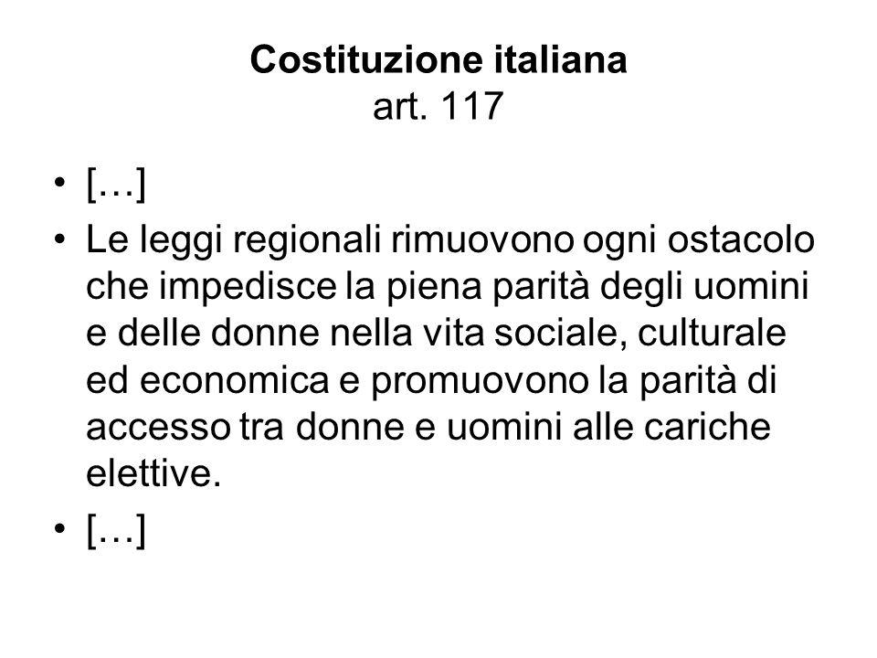 Costituzione italiana art. 117
