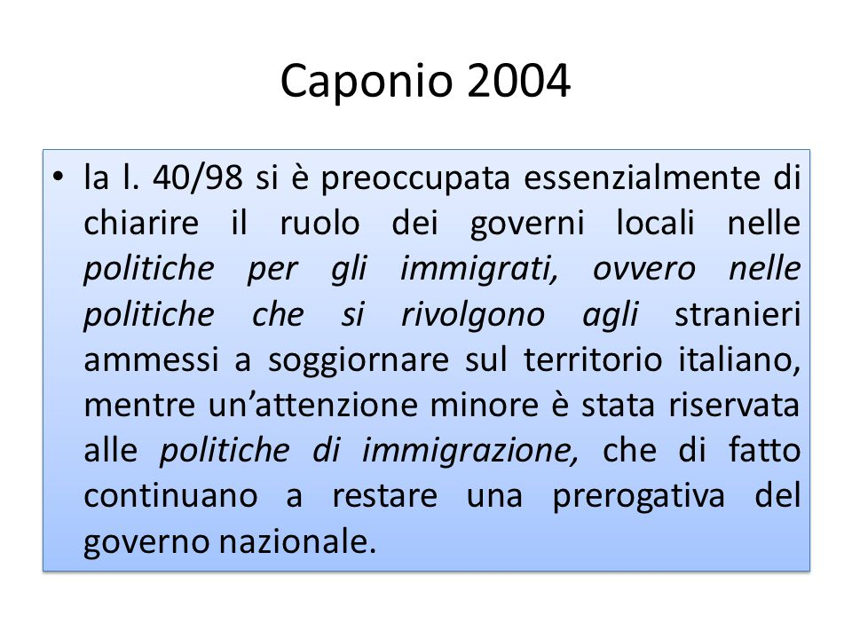 Caponio 2004