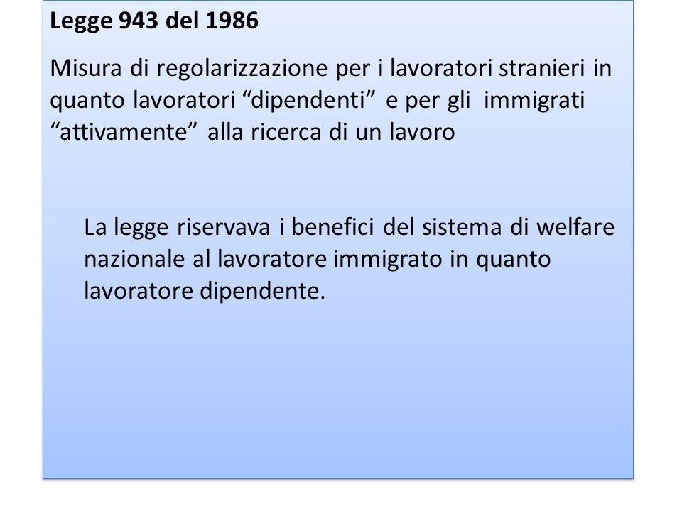 Legge 943 del 1986