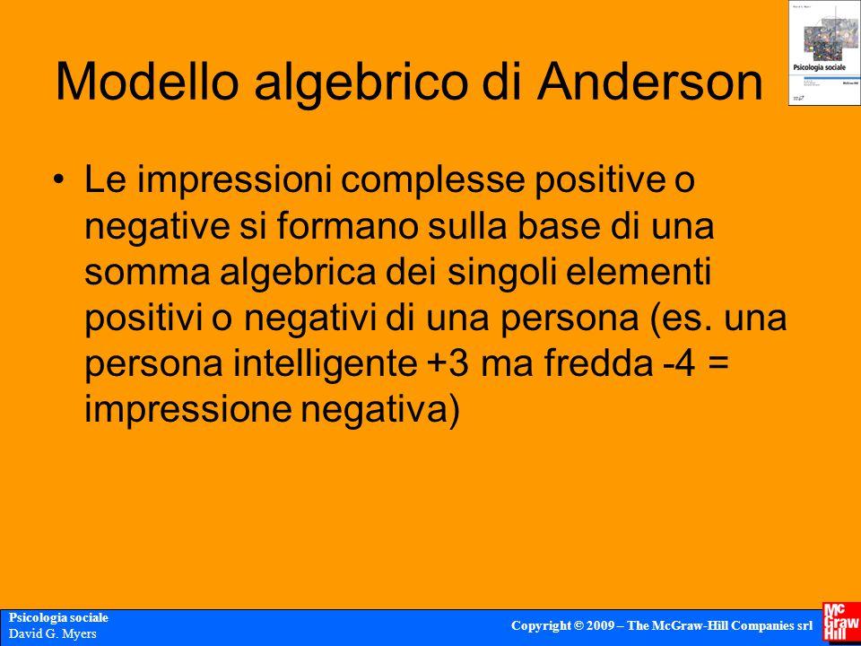 Modello algebrico di Anderson