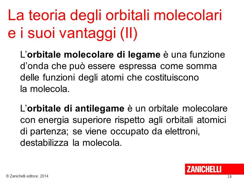 La teoria degli orbitali molecolari e i suoi vantaggi (II)