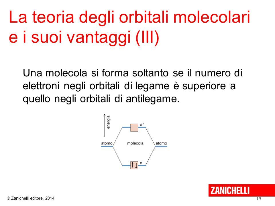 La teoria degli orbitali molecolari e i suoi vantaggi (III)
