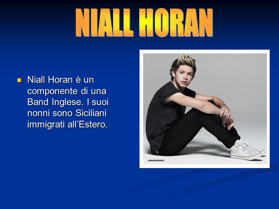 NIALL HORAN Niall Horan è un componente di una Band Inglese.