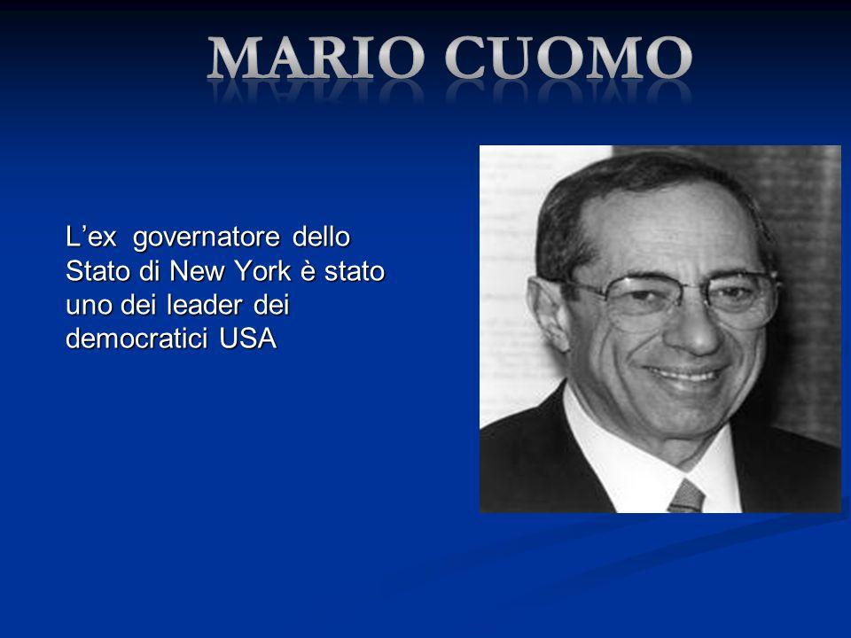 Mario cuomo L'ex governatore dello Stato di New York è stato uno dei leader dei democratici USA