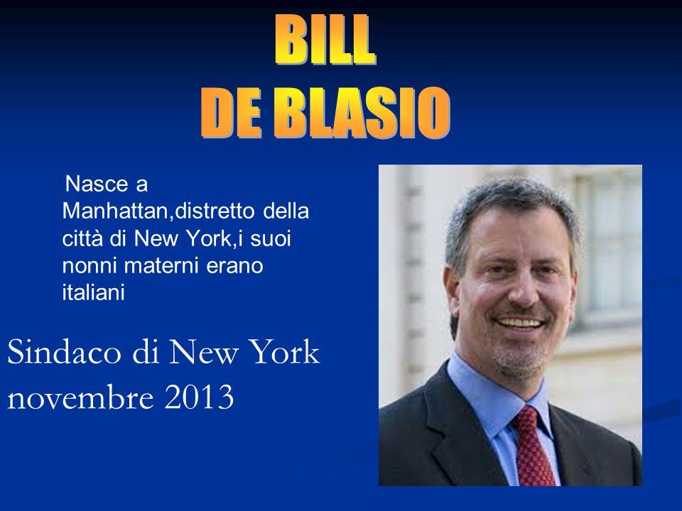 Sindaco di New York novembre 2013
