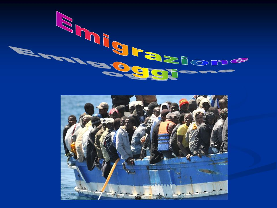 Emigrazione oggi