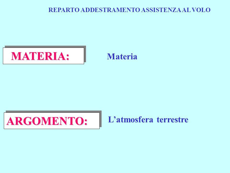 REPARTO ADDESTRAMENTO ASSISTENZA AL VOLO