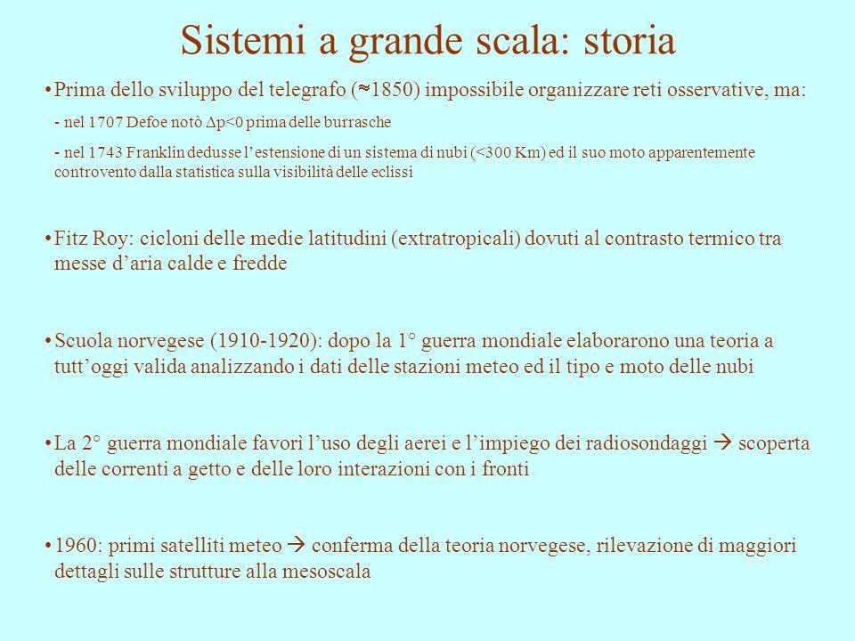 Sistemi a grande scala: storia