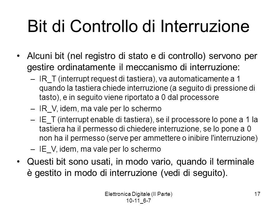Bit di Controllo di Interruzione