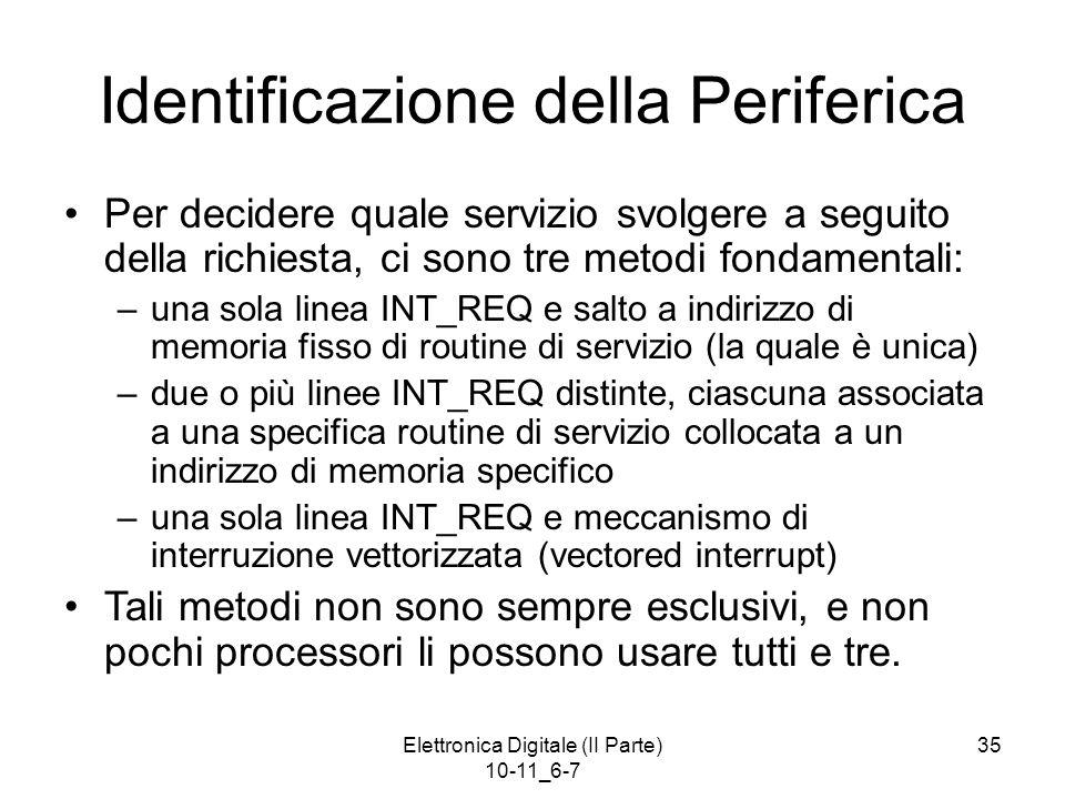Identificazione della Periferica