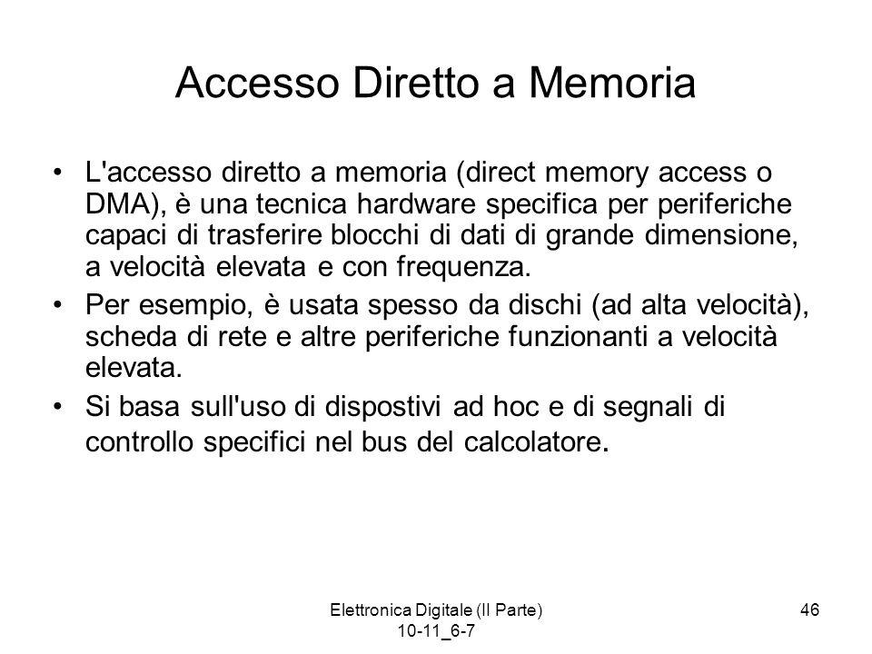 Accesso Diretto a Memoria