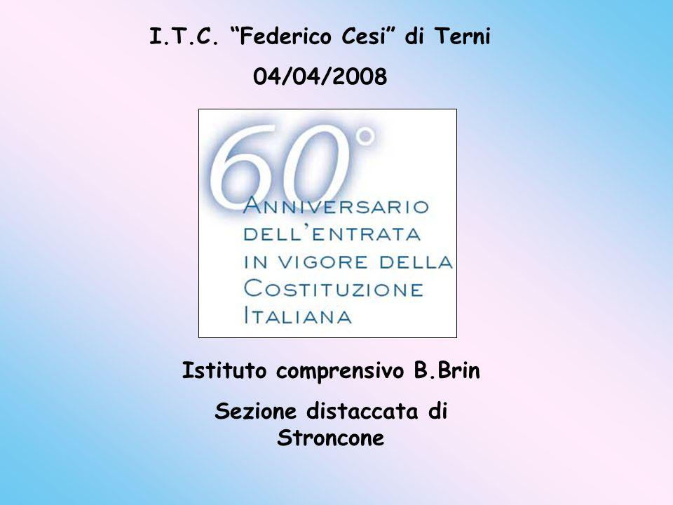 I.T.C. Federico Cesi di Terni 04/04/2008