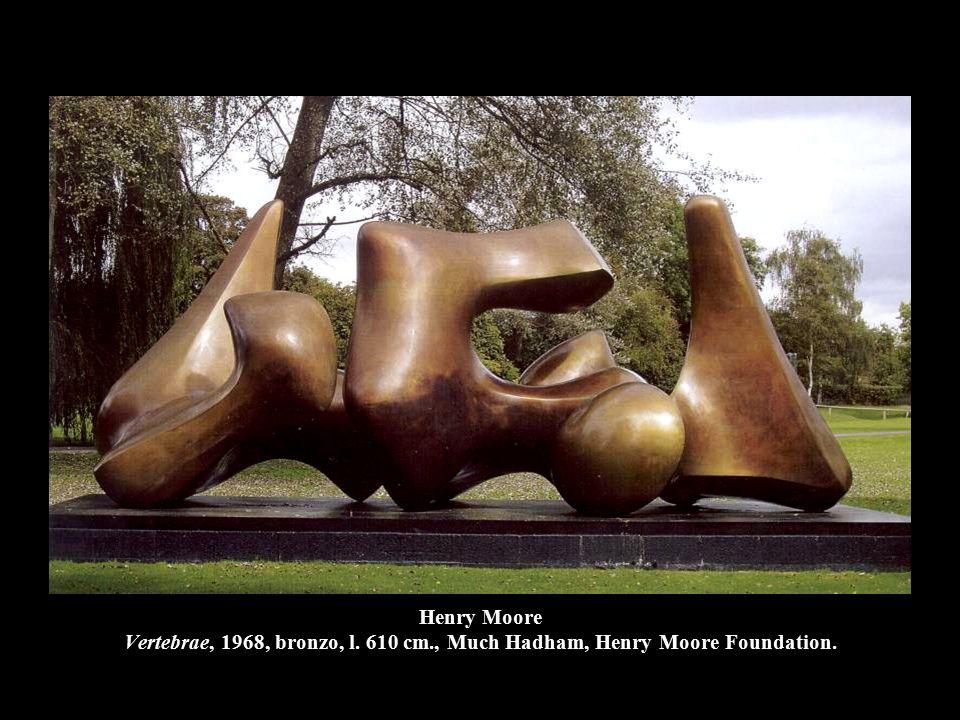 Henry Moore Vertebrae, 1968, bronzo, l. 610 cm