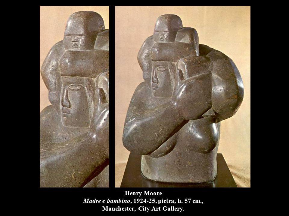 Henry Moore Madre e bambino, 1924-25, pietra, h. 57 cm