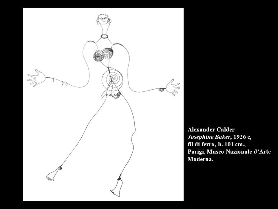 Alexander Calder Josephine Baker, 1926 c, fil di ferro, h. 101 cm