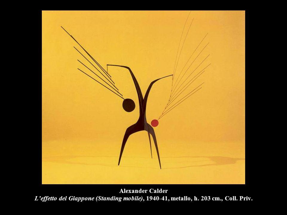 Alexander Calder L'effetto del Giappone (Standing mobile), 1940-41, metallo, h. 203 cm., Coll. Priv.