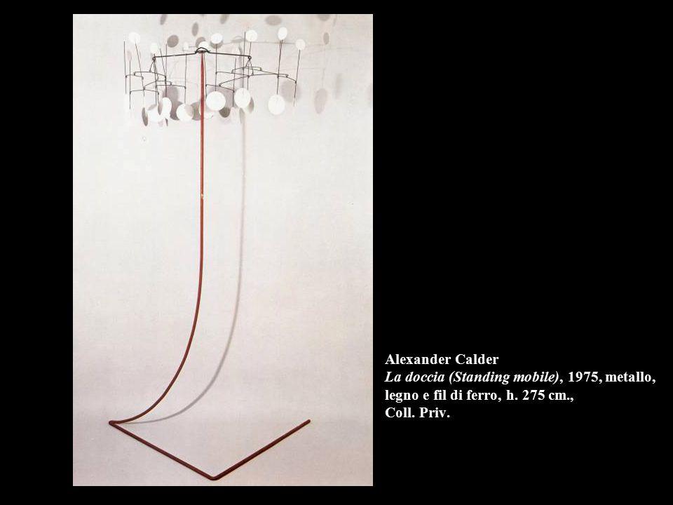 Alexander Calder La doccia (Standing mobile), 1975, metallo, legno e fil di ferro, h.
