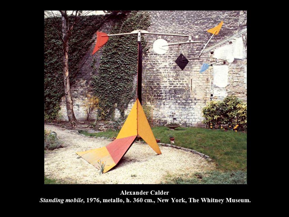 Alexander Calder Standing mobile, 1976, metallo, h. 360 cm
