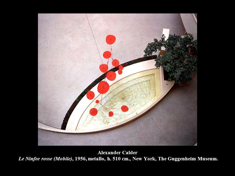 Alexander Calder Le Ninfee rosse (Mobile), 1956, metallo, h. 510 cm