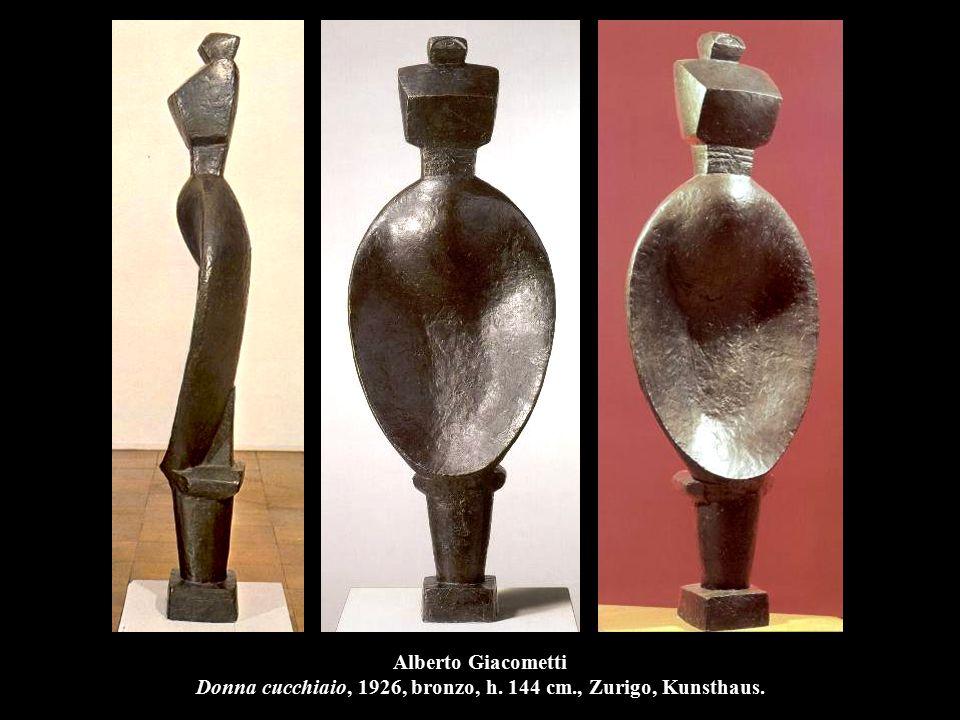 Alberto Giacometti Donna cucchiaio, 1926, bronzo, h. 144 cm