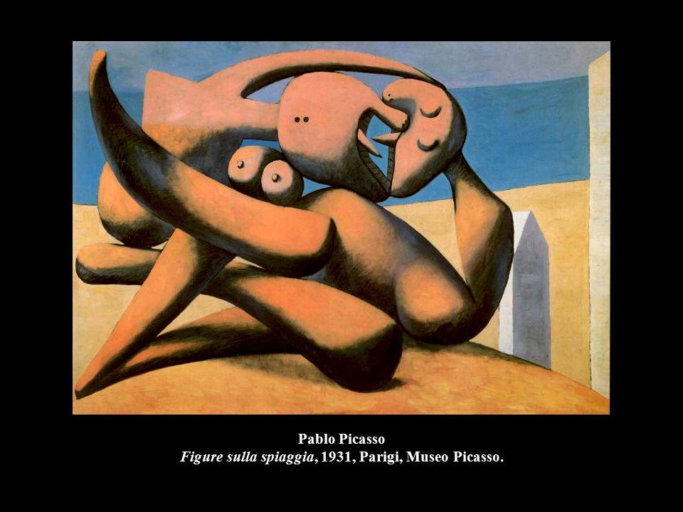 Pablo Picasso Figure sulla spiaggia, 1931, Parigi, Museo Picasso.