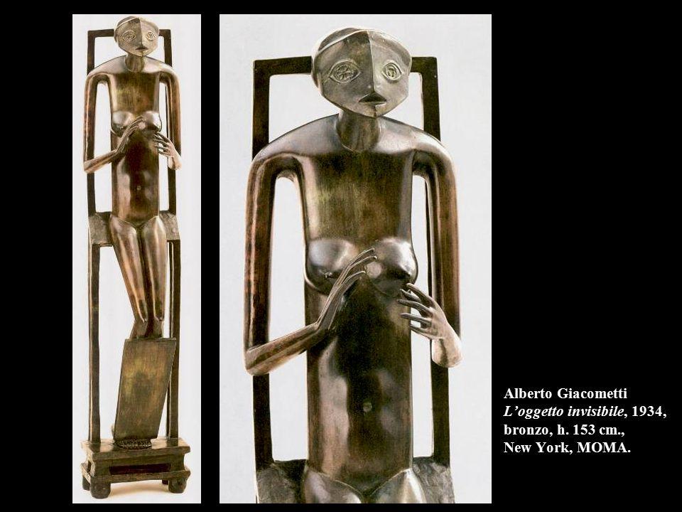 Alberto Giacometti L'oggetto invisibile, 1934, bronzo, h. 153 cm