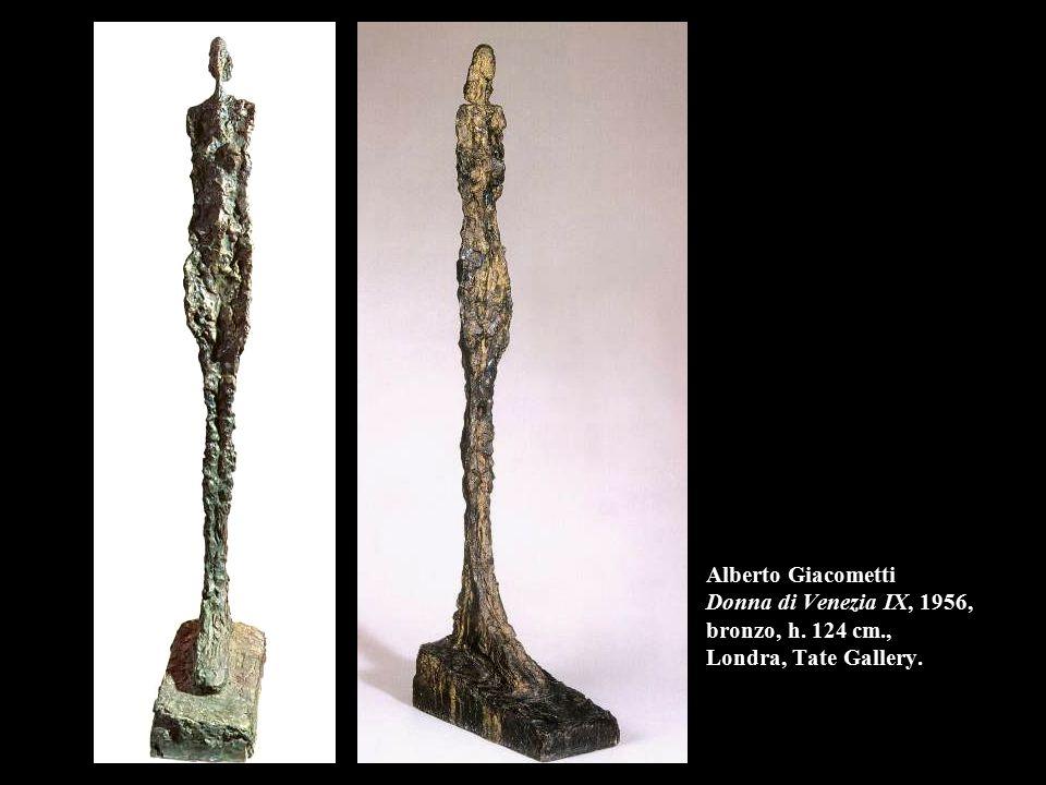 Alberto Giacometti Donna di Venezia IX, 1956, bronzo, h. 124 cm